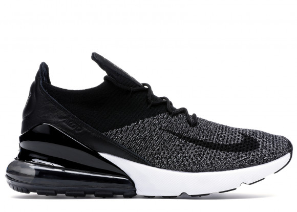 Nike Air Max 270 Flyknit Black White