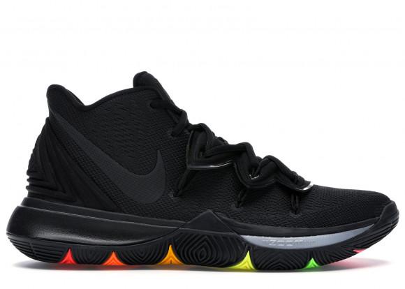 Nike Kyrie 5 Black Rainbow Soles - AO2918-001