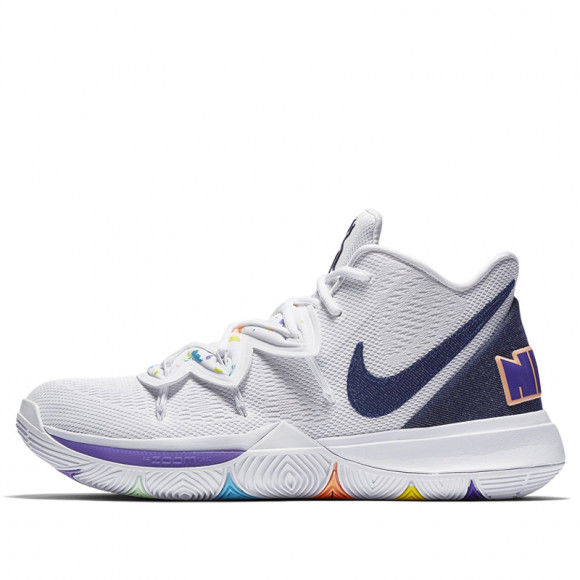 Nike Kyrie 5 'Have a Nike Day' White Deep Royal Glacier Blue