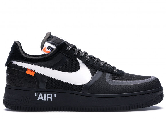 Nike Air Force 1 Low Off-White Black White - AO4606-001