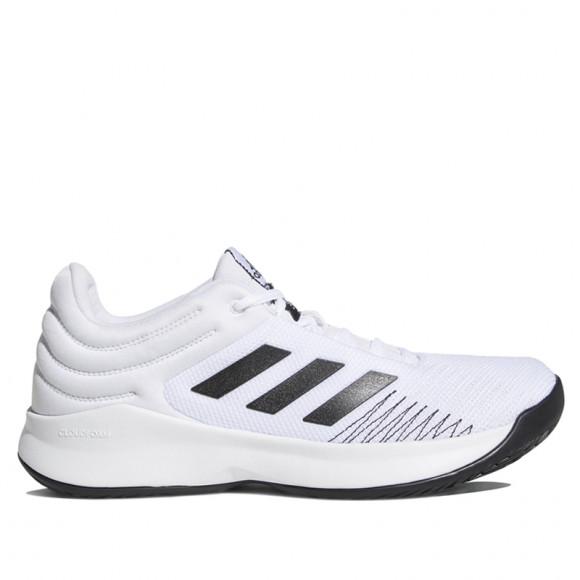 Mens adidas Pro Spark Low 2018 White