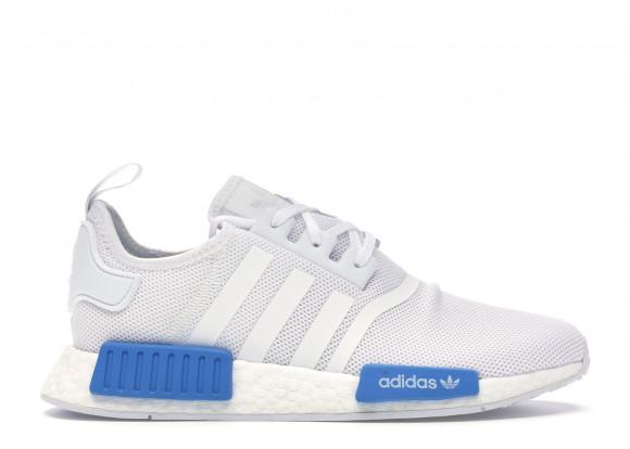 adidas NMD R1 Cloud White Bright Blue (Youth) - AQ1785