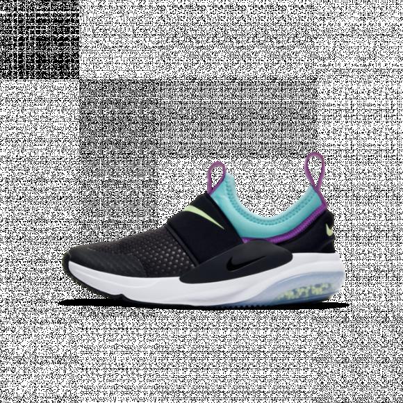 Girls Nike Nike Joyride Nova - Girls' Grade School Shoe Black/Barely Volt/Aurora Green Size 04.5 - AQ3141-003