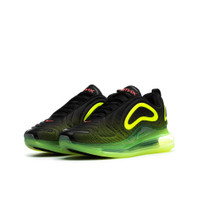Boys Nike Nike Air Max 720 - Boys' Grade School Shoe Black/Crimson/Volt Size 06.5 - AQ3196-005