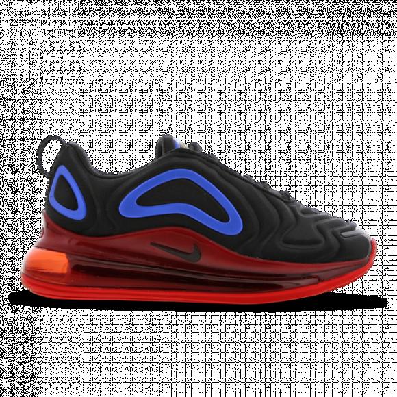 Nike Boys Nike Air Max 720 - Boys' Grade School Running Shoes Black/University Gold/Hyper Royal Size 6.0 - AQ3196-009