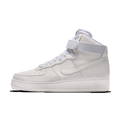 Nike Air Force 1 High By You Custom Men's Shoe - White - AQ3771-994