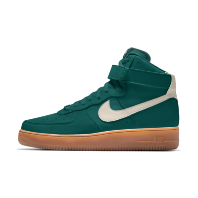 Scarpa personalizzabile Nike Air Force 1 High By You - Donna - Blu ...