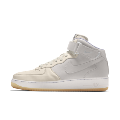 Scarpa personalizzabile Nike Air Force 1 Mid By You - Donna ...