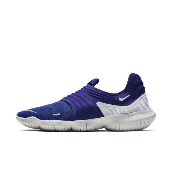 Nike Free RN Flyknit 3.0 Men's Running Shoe - Blue - AQ5707-401