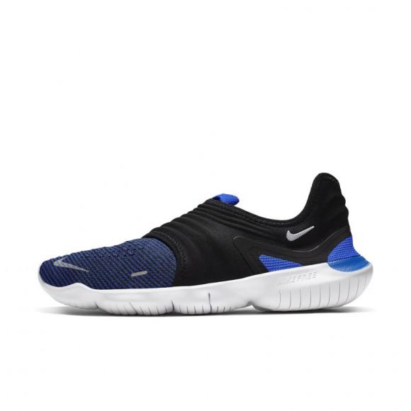 Nike Free RN Flyknit 3.0 Men's Running Shoe - Blue - AQ5707-402