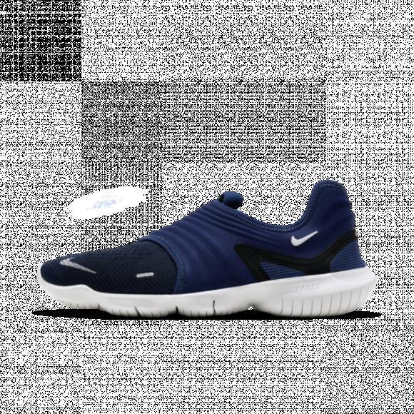 Nike Free RN Flyknit 3.0 Men's Running Shoe - Blue - AQ5707-403