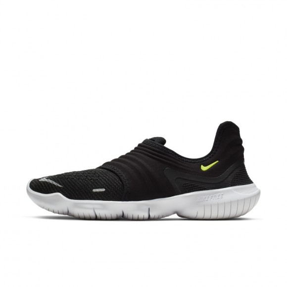 Nike Free RN Flyknit 3.0 Women's Running Shoe - Black - AQ5708-001