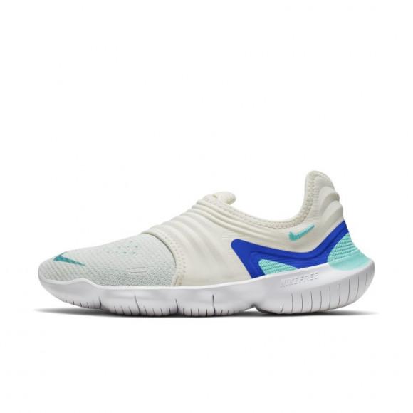 Nike Free RN Flyknit 3.0 Women's Running Shoe - Cream - AQ5708-100