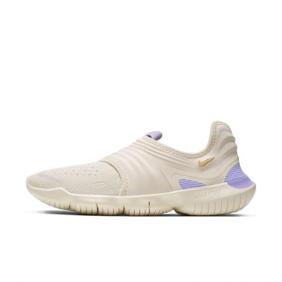 Nike Free RN Flyknit 3.0 Women's Running Shoe - Cream - AQ5708-201