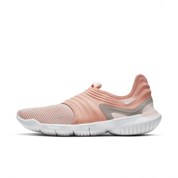 Nike Free RN Flyknit 3.0 Women's Running Shoe - Pink - AQ5708-600