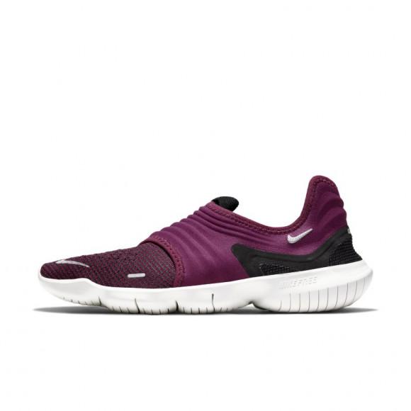 Nike Free RN Flyknit 3.0 Women's Running Shoe - Purple - AQ5708-601