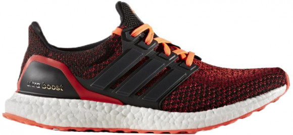 Adidas UltraBoost 2.0 'Solar Red' Core Black/Core Black/Solar Red ...