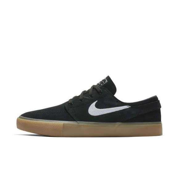 Nike Sb Zoom Janoski Rm Black/ White-Black-Gum Light Brown - AQ7475-003