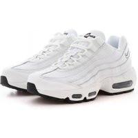 Nike Wmns Air Max 95 Lea, Summit White/Summit White-Black - AQ8758-100