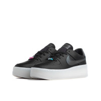 Nike Women's Air Force 1 Sage Low LX Oil GreyBlank White