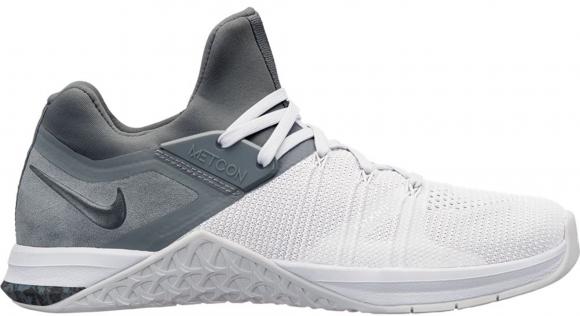 Nike Metcon Flyknit 3 Wolf Grey White (W) - AR5623-011