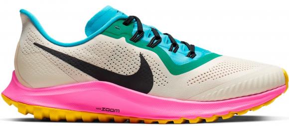 Nike Air Zoom Pegasus 36 Trail Men's Running Shoe - Cream - AR5677-101