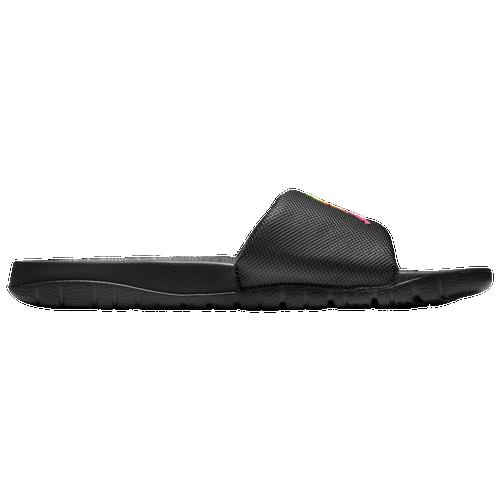 Jordan Break Slide - Men's Shoes - Black / Ghost Green / Sunset Pulse - AR6374-008
