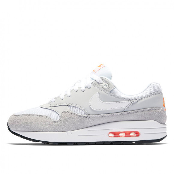 Nike Air Max 1 Pure Platinum/Total Orange - AT0043-001