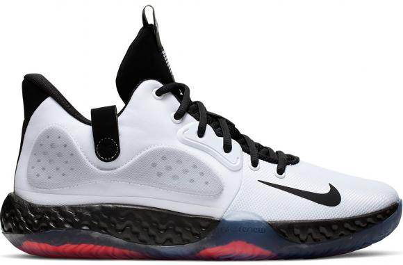 Nike Kd trey 5 VII Blanc noir gris crimson AT1200 100