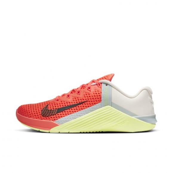Nike Metcon 6 Women's Training Shoe - Orange - AT3160-800