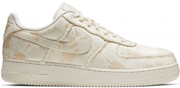 Nike Air Force 1 Low Satin Floral Pale Ivory - AT4144-100