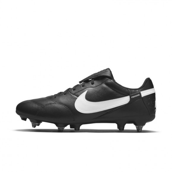 The Nike Premier 3 SG-PRO Anti-Clog Traction Soft-Ground Football Boot - Black - AT5890-010