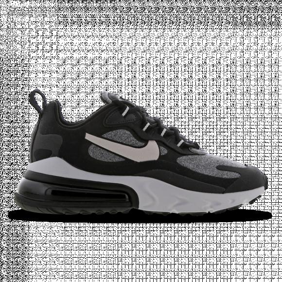 Nike Womens Nike Air Max 270 React Womens Running Shoes BlackVast GreyOff Noir Size 8.5