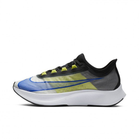 Nike Zoom Fly 3 Men's Running Shoe - White - AT8240-104