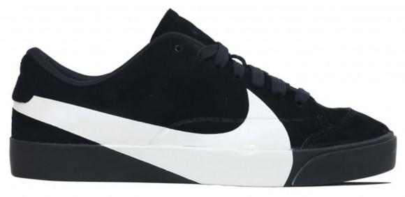 Nike Womens WMNS Blazer City Low LX Black Suede Sneakers/Shoes AV2253-001 - AV2253-001