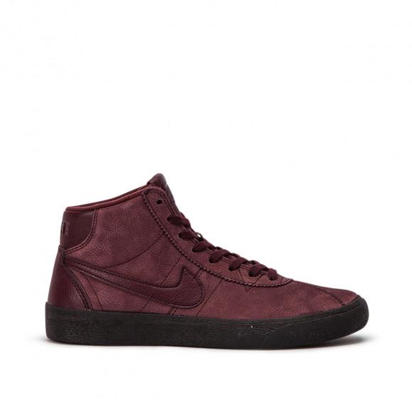 Nike WMNS SB Bruin Hi Premium (Burgundy) - AV3557-600