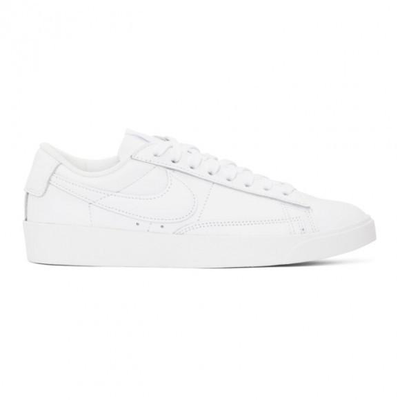 Nike White Blazer Low LE Sneakers - AV9370