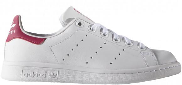 adidas Stan Smith Lea white/white/bold pink - B32703