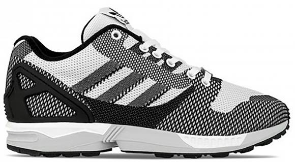 adidas ZX Flux Weave White Black Onix