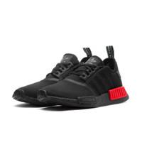 adidas NMD R1 Core Black Lush Red - B37618