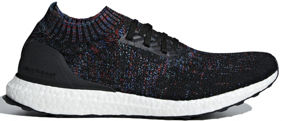 adidas Ultraboost Uncaged Core Black/ Active Red/ Blue - B37692