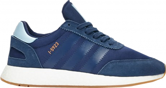 adidas I-5923 Runner Lace Up Sneakers Casual Shoes Navy- Mens- Size 6 D