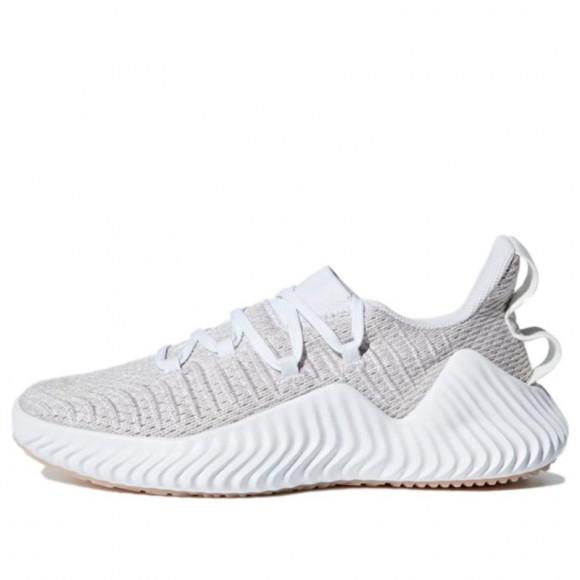 Womens adidas Adidas Alphabounce Trainer 'Cloud White' WMNS Marathon Running Shoes/Sneakers B75780 - B75780
