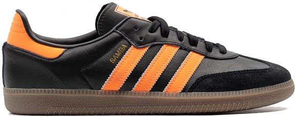 adidas Samba OG Core Black Hi Res Orange - B75804