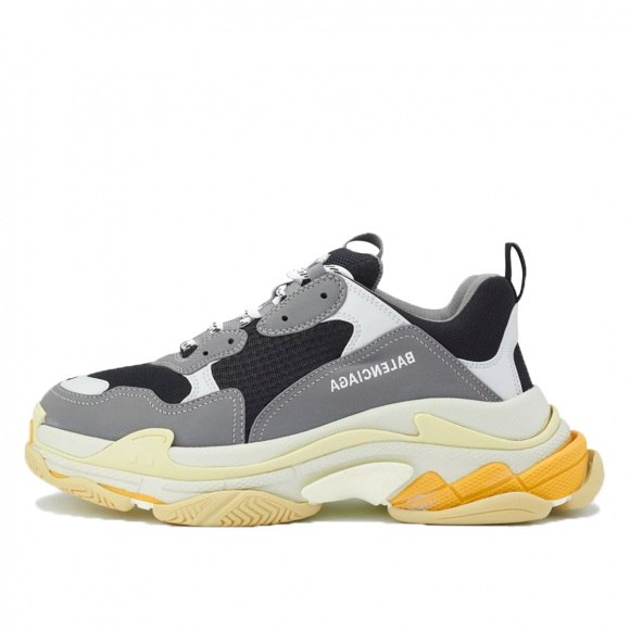 Balenciaga Triple S Black Grey Yellow (2020) - BALNSCYHGEECE46000