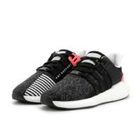 adidas EQT Support 93/17 Core Black Turbo - BB1234