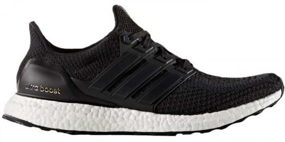 Adidas Ultra Boost M Core Black Marathon Running Shoes/Sneakers ...