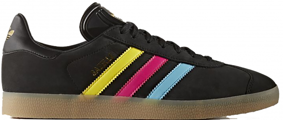 adidas Gazelle Black Multi Stripe - BB5251