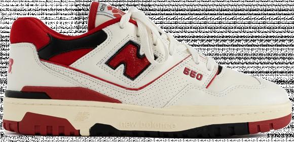550 Aime Leon Dore White Red (2020) - BB550AE1