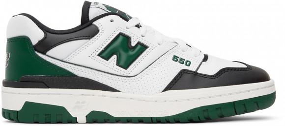 New Balance 550 White Green Black - BB550LE1